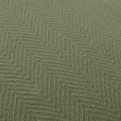 herringbone mossgreen detail kussen groen olijf hinck amsterdam katoen 55x55cm woonaccessoires met bijzondere texturen met oog voor detail, handgemaakt en of handgeweven