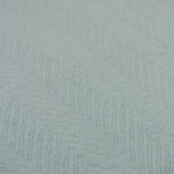 herringbone storm grey detail kussen zacht licht grijs hinck amsterdam katoen 55x55cm woonaccessoires met bijzondere texturen met oog voor detail, handgemaakt en of handgeweven