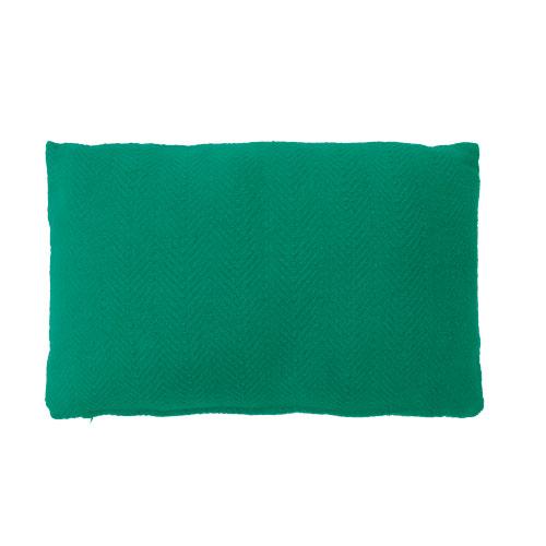 herringbone peppergreen kussen fel diep groen hinck amsterdam katoen 35x55cm woonaccessoires met bijzondere texturen met oog voor detail, handgemaakt en of handgeweven