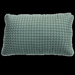 Richstitch oldgreen kussen donkergroen groen green hinck amsterdam linnen hand geborduurd 35x55cm woonaccessoires met bijzondere texturen met oog voor detail, handgemaakt en of handgeweven