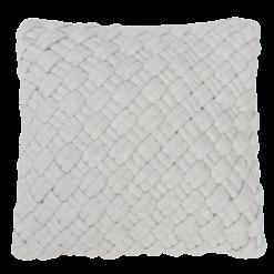 wicker ivory kussen creme wit naturel hinck amsterdam jersey 40x40cm woonaccessoires met bijzondere texturen met oog voor detail, handgemaakt en of handgeweven