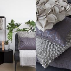 Interieur inspiratie grijs lichtgrijs zachtgrijs antracite charcoal lightgrey nieuwste trend kussens vernieuwend hinck amsterdam woonaccessoires