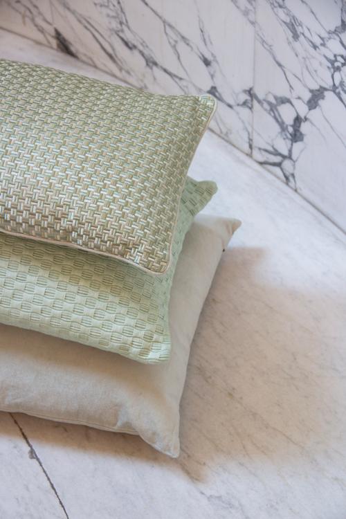 Interieur inspiratie mint groen nieuwste trend kussens vernieuwend hinck amsterdam woonaccessoires